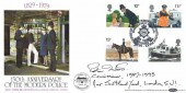 1979 Police,  Benham BOCS14 Official FDC, Headquarters of West Yorkshire Metropolitan Police Wakefield 150 Years West Yorkshire H/S, Signed by Commissioner Sir Peter Imbert
