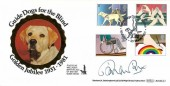 1981 Year of the Disabled, Benham BOCS(2)2 Official FDC, Guide Dogs Golden Jubilee Wallasey H/S, Signed by Brian Rix Actor & President of Mencap