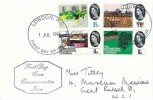 1964 Geographical Congress, Display FDC, London WC FDI