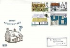 1970 Rural Architecture, Philcovers FDC, Enfield Middx. FDI