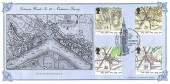 1991 Maps, Bradbury Victorian Print No.62 Official FDC, 150th Anniversary Ordnance Survey Act Westminster London SW1 H/S