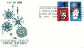 1966 Christmas, Philart FDC, Reedham School Purley Surrey Caring for Children since 1844 Slogan