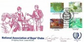 1985 Composers Official National Association of Boys' Club (NABC) FDC, National Association of Boys' Clubs Diamond Jubilee Edinburgh H/S