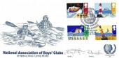 1985 Safety at Seas Official National Association of Boys' Club (NABC) FDC, National Association of Boys' Clubs Diamond Jubilee River Severn Worcester H/S