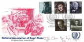 1985 British Film Year, Official National Association of Boys' Club (NABC) FDC, National Association of Boys' Clubs Diamond Jubilee Belfast H/S.