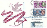 1960 Europa, Registered Illustrated FDC, Week Street Maidstone Kent cds