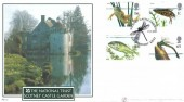 2001 Pond Life, Buckingham Covers (Internetstamps) Official FDC No.10, Scotney Castle Gardens Lamberhurst Kent H/S