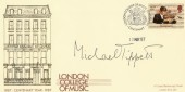 1987 London College of Music Cover signed by Michael Tippett