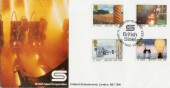 1986 Industry Year British Steel Covercraft Official FDC