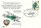 1980 50th Anniversary of Amy Johnson's Solo Flight England to Australia May 5th to May 24th 1930 Commemorative Cover, 50th Anniversary Amy Johnson Solo Flight Hull H/S, Flown