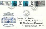 1965 Joseph Lister, Registered Royal Infirmary Edinburgh FDC, Royal Infirmary Edinburgh 3 cds