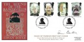 1997 Tales of Horror, Steven Scott FDC, The Hounds of the Baskervilles Baker Street H/S, Signed by Tom Baker Doctor Who Actor
