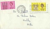 1963 Freedom from Hunger, National Provincial Bank Limited FDC, Freedom From Hunger Week 17-24 March London SW1 Slogan