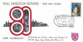 1980 Queen Mother 80th Birthday, Market Weighton School Official FDC, Hull Kingston Rovers Cup Winners 1980 Hull H/S