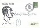 1974 Guglielmo Marconi Centenary Cover, Guglielmo Marconi Centenary Year Chelmsford Essex H/S, Signed by his daughter Maria Elettra Marconi