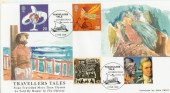 1999 Travellers' Tale Peter Payne Official Ulysses FDC