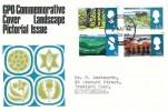 1966 British Landscapes, GPO FDC, Huddersfield Yorkshire cds