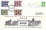 1979 European Elections, Stowmarket Suffolk Twinning Committee Official FDC, Entente Cordiale ! Stowmarket H/S, Double with French Stamp 21st April 1979