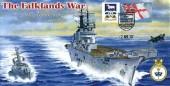 2007 The Falkland War 25th Anniversary HMS Invincible Cover, 25th Anniversary of the Falkland Conflict Portsmouth H/S