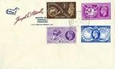 1949 Universal Postal Union, Joseph E Attwell FDC, Taunton Somerset cds