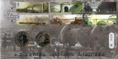 2006 Brunel, Royal Mint Official FDC,1806 - 1859 Engineer I K Brunel Paddington H/S