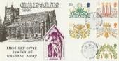 1980 Christmas Hawkwood Official Waltham Abbey FDC