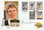 1998 Diana Westminster Official FDC. Signed by Penny Junor