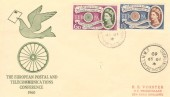 1960 Europa, Illustrated Cover, Childs Hill Cricklewood NW2 cds.