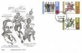 1971 General Anniversaries, Graphic Art Taunton FDC, Taunton Somerset FDI.
