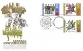 1971 General Anniversaries, Post Office FDC, First Day of Issue Maidstone H/S